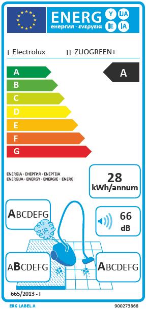 Electrolux ZUOGREEN+ støvsuger